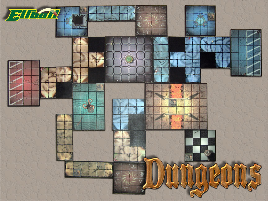Dungeonbowl, November Elfball_DungeonTiles